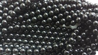 Must turmaliin 8 mm