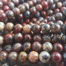 Japsis (poppy jasper) 8 mm