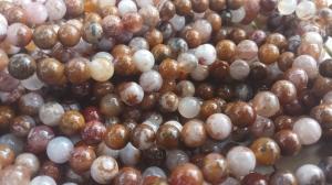 Sammalahhaat (Agua Nueva Moss Agate) 8 mm