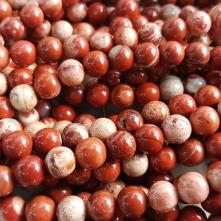 Punane cappucino jaspis 8 mm