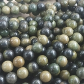 Roheline Aafrika jaspis 8 mm